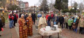 Само Света литургия и Велик водосвет на Богоявление в Поморие