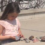 8-годишната Тереза от Поморие откри скъпоценен камък на 50 млн. години