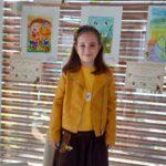 Рисунка на 6-годишната Михаела от Поморие класирана на I място в бургаски конкурс за детска рисунка