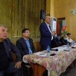 За липсата на плажна ивица на основния бряг на Ахелой се говори на среща с ръководството на Общината