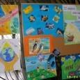 """Световният ден на Земята – 22 април отбелязват в СОУ """" Иван Вазов"""" град Поморие. Във фоайето на училището децата подредиха изложба от рисунки по темата за опазването на планетата...."""