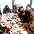 """По инициатива на собственика на хотел St.George в Поморие Георги Тръпков и през тази година бе организирана """"Kоледна трапеза на приятели"""". На верандата на Bar@Grill, приятели и познати, се събраха..."""