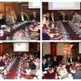 """По повод проекта """"В унисон с Европа"""", кметът Николай Димитров покани представители на Общини от Унгария, Полша, Германия, Италия и Румъния, между които бяха обсъдени и обменени добри практики и..."""