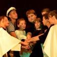 """Това са финалните думи , които ще изпеят единадесет малки, поморийски актьори от Театрална студия """"Светулка"""" при НЧ """"Светлина 1939""""-гр.Поморие , в спектакъла """"Любовта е солена"""". Той е включен в..."""