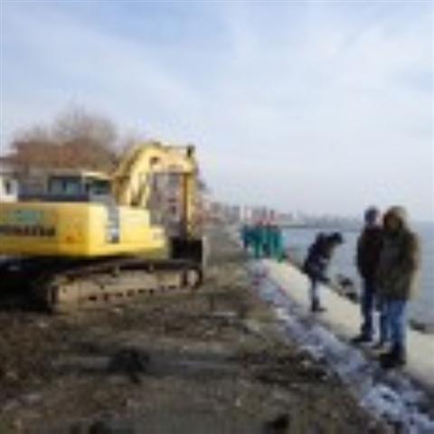 """В Поморие стартира изпълнението на проекта: """"Реконструкция и укрепване на съществуваща крайбрежна дига с цел предотвратяване на наводнения на жилищна зона, прилежаща към ул. """"Морска"""" в кв. """"Св. Георги"""""""" по..."""