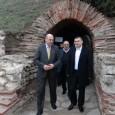 """Вицепремиерът и министър на финансите Симеон Дянков лично направи инспекция на дейностите, които се извършват в Куполната гробница, обект от проекта """"Виа Понтика"""", съобщиха от общината. """"Поморие е една от..."""